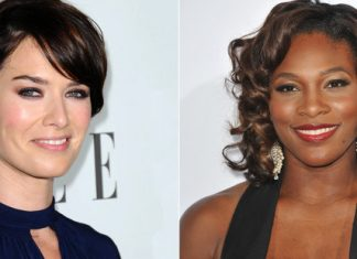 Lena Headey e Serena Williams