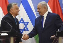 viktor orban in israele