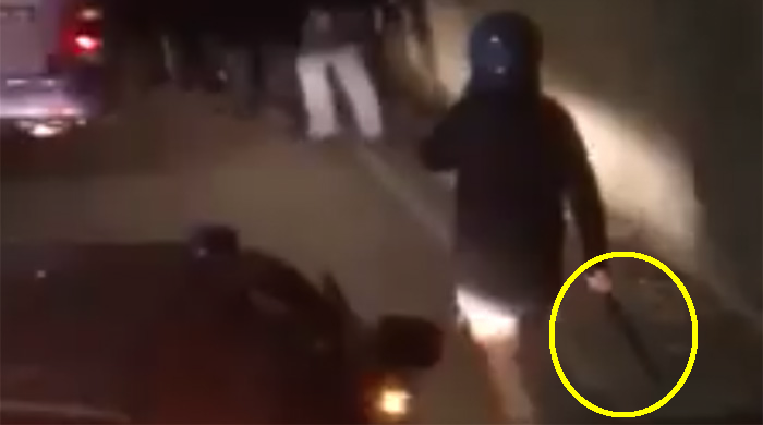 Tifosi dell'Atalanta massacrati dalla polizia senza motivo sul pullman. Video